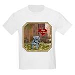 Schnauzer #2 Kids Light T-Shirt