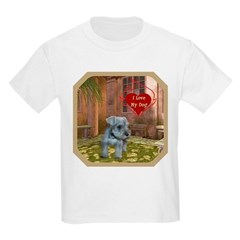 Schnauzer #2 Kids Light T-Shirt