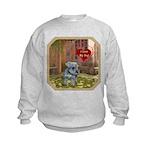 Schnauzer #2 Kids Sweatshirt