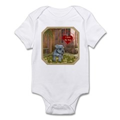Schnauzer #2 Infant Bodysuit