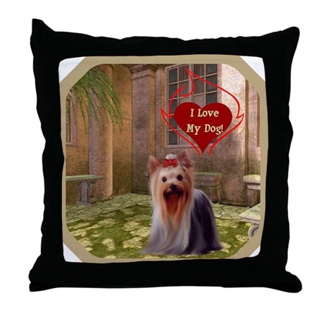 Yorkshire Throw Pillow
