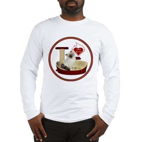 Cat #1 Long Sleeve T-Shirt