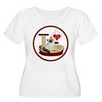 Cat #1 Women's Plus Size Scoop Neck T-Shirt