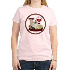 Cat #1 Women's Light T-Shirt