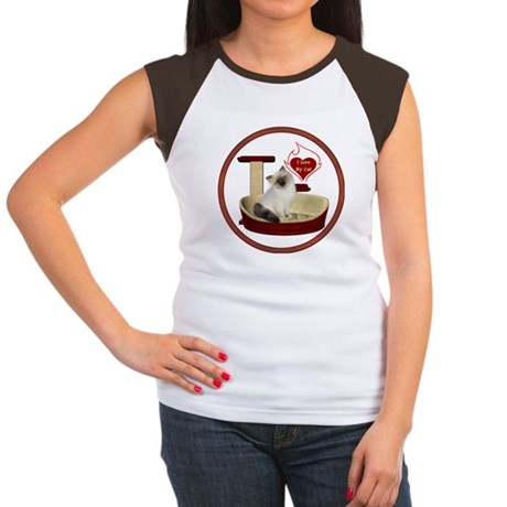 Cat #1 Women's Cap Sleeve T-Shirt