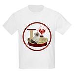 Cat #1 Kids Light T-Shirt