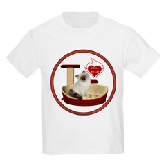 Cat #1 Kids Light T-Shirt