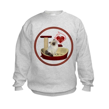 Cat #1 Kids Sweatshirt