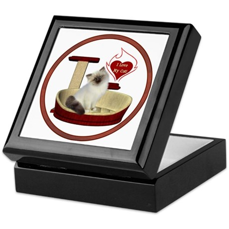 Cat #1 Keepsake Box