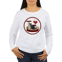 Cat #2 Women's Long Sleeve T-Shirt