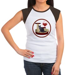 Cat #2 Women's Cap Sleeve T-Shirt