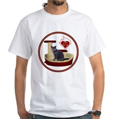 Cat #2 White T-Shirt