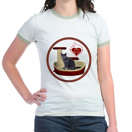 Cat #2 Jr. Ringer T-Shirt