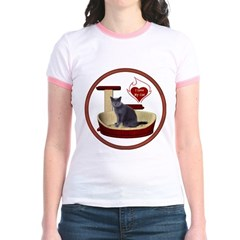 Cat #2 Jr. Ringer T-Shirt
