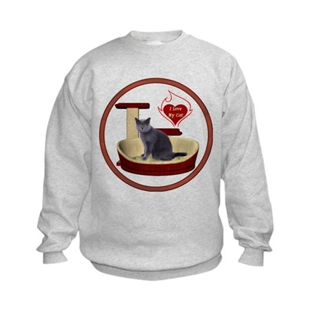 Cat #2 Kids Sweatshirt