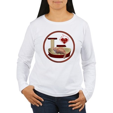 Cat #3 Women's Long Sleeve T-Shirt