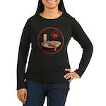 Cat #3 Women's Long Sleeve Dark T-Shirt
