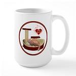 Cat #3 Large Mug