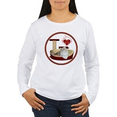 Cat #4 Women's Long Sleeve T-Shirt