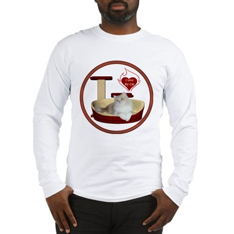 Cat #4 Long Sleeve T-Shirt