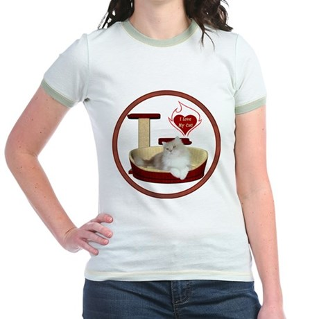 Cat #4 Jr. Ringer T-Shirt