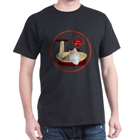 Cat #4 Dark T-Shirt
