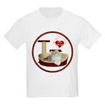 Cat #4 Kids Light T-Shirt