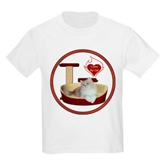 Cat #4 Kids Light T-Shirt