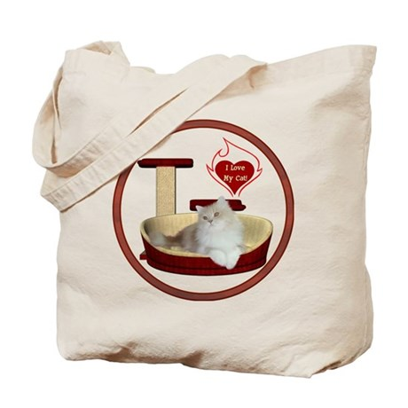 Cat #4 Tote Bag