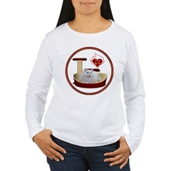 Cat #5 Women's Long Sleeve T-Shirt