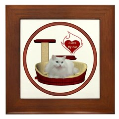 Cat #5 Framed Tile