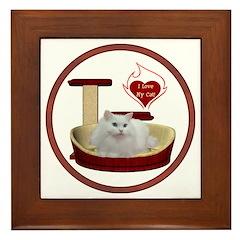 Cat #5 Framed Tile