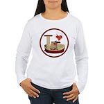 Cat #6 Women's Long Sleeve T-Shirt
