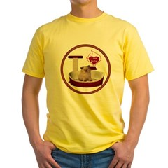 Cat #6 Yellow T-Shirt