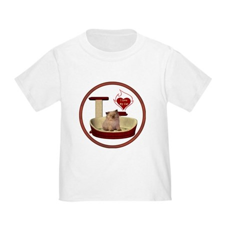 Cat #6 Toddler T-Shirt