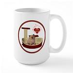 Cat #6 Large Mug