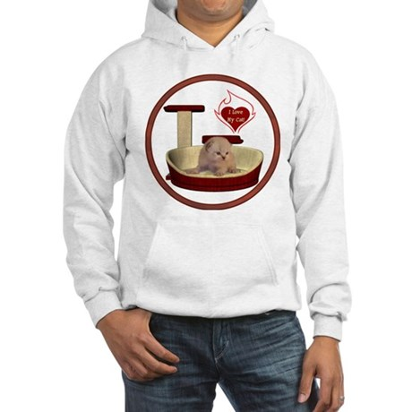 Cat #7 Hooded Sweatshirt