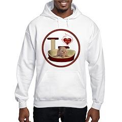 Cat #7 Hooded Sweatshirt