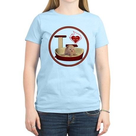 Cat #7 Women's Light T-Shirt