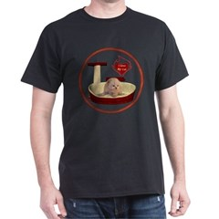 Cat #7 Dark T-Shirt