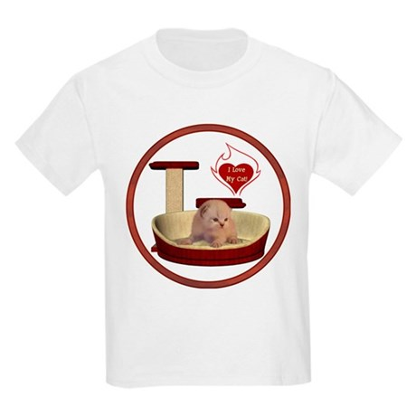 Cat #7 Kids Light T-Shirt