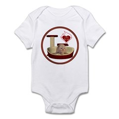 Cat #7 Infant Bodysuit