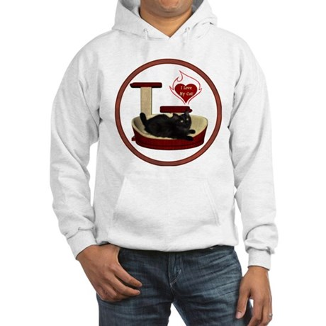 Cat #8 Hooded Sweatshirt