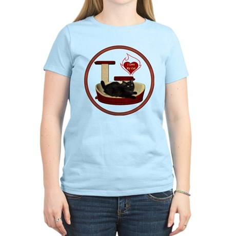 Cat #8 Women's Light T-Shirt