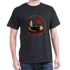 Cat #8 Dark T-Shirt