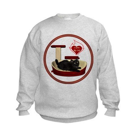 Cat #8 Kids Sweatshirt