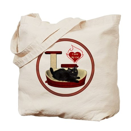 Cat #8 Tote Bag
