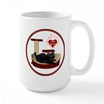 Cat #8 Large Mug