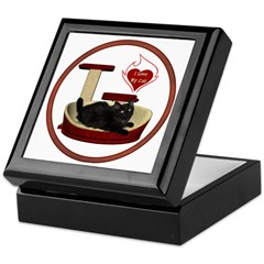 Cat #8 Keepsake Box