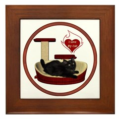 Cat #8 Framed Tile